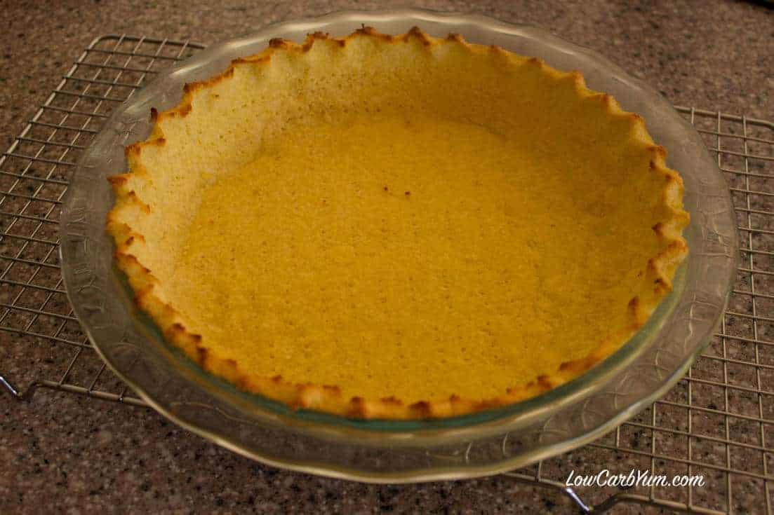 low carb coconut flour pie crust