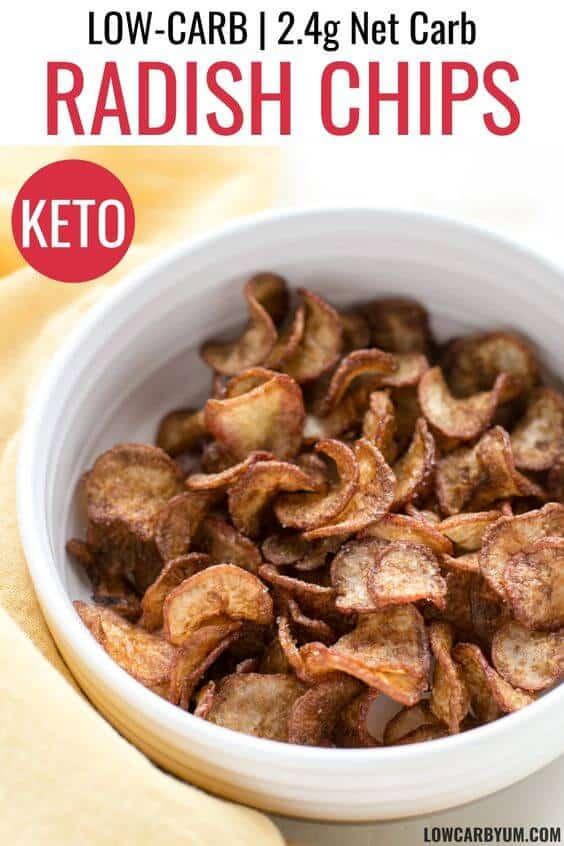 radish chips recipe