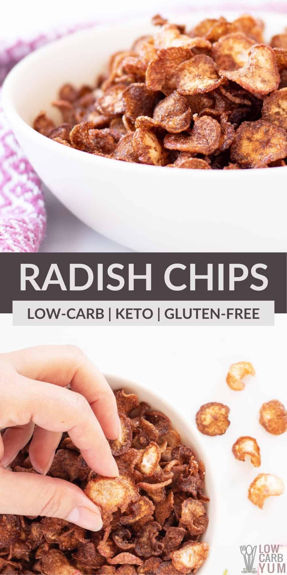 radish chips pinterest image