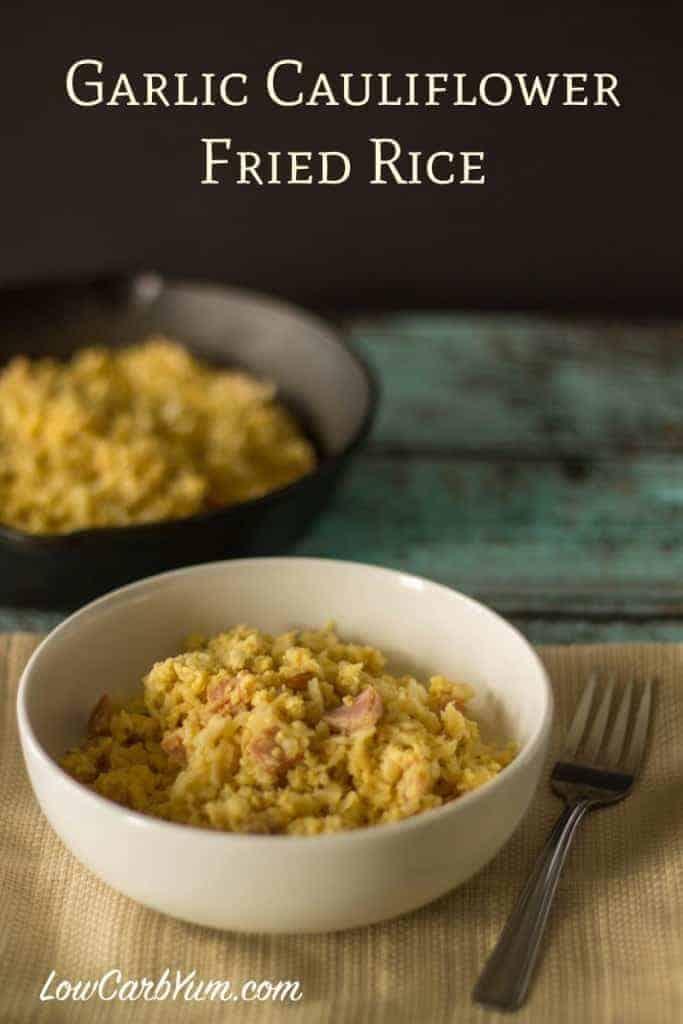 sinangag filipino garlic fried cauliflower rice recipe