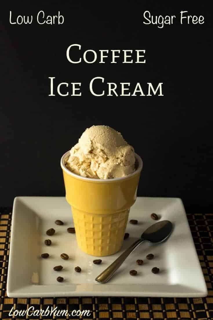 sugar-free keto coffee ice cream recipe