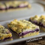 Blueberry Jam Cheesecake Bars