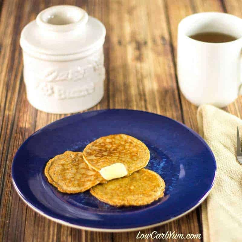 Flourless Cinnamon Egg Fast Pancakes