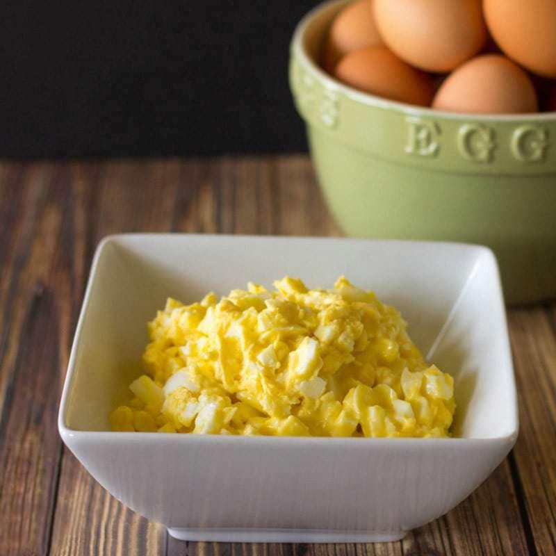 Low Carb Keto Egg Salad for Egg Fast