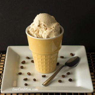 Homemade Coffee Ice Cream Without Eggs