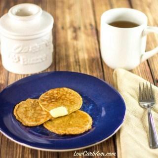 keto egg fast flourless cinnamon pancakes recipe