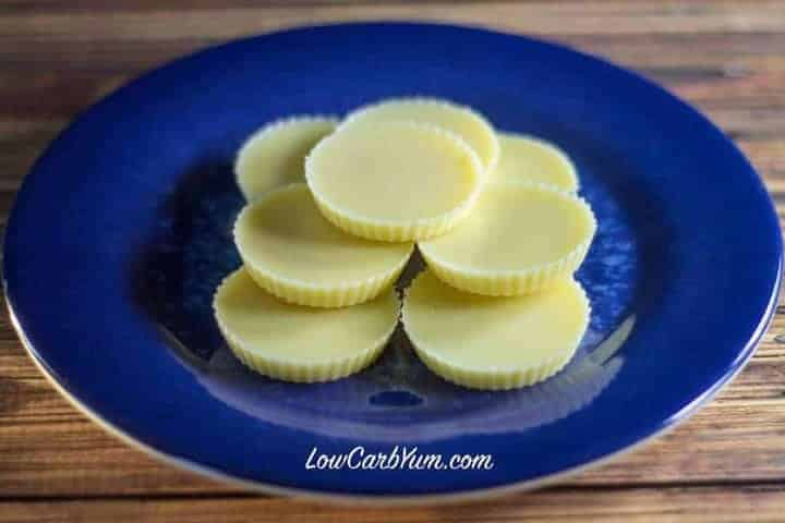 keto low carb white chocolate fat bombs