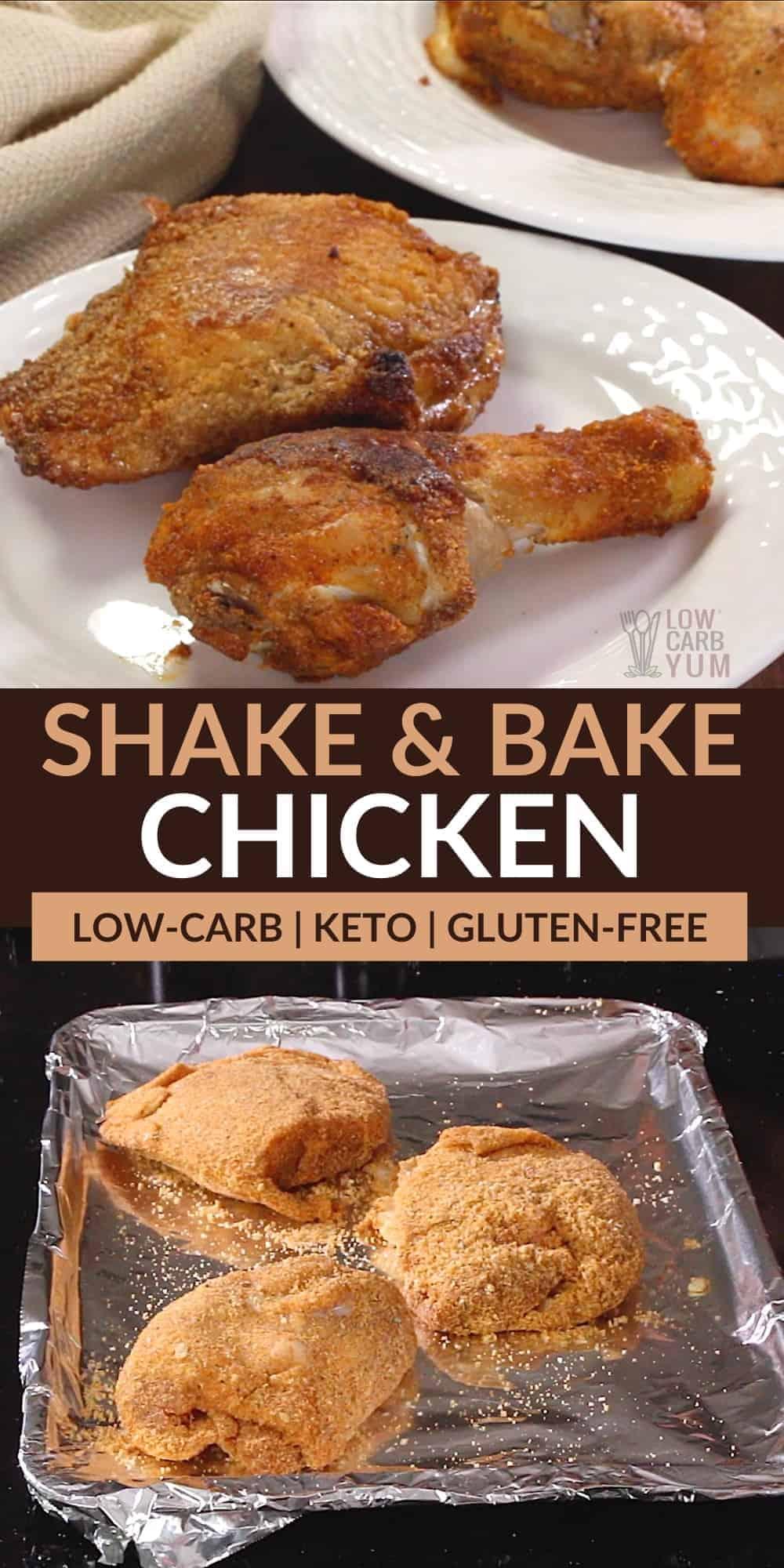 keto shake and bake chicken