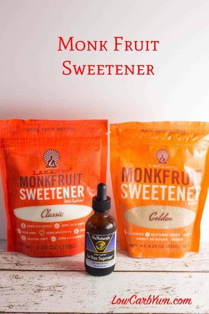 Monk Fruit Lo Han Go Sweetener