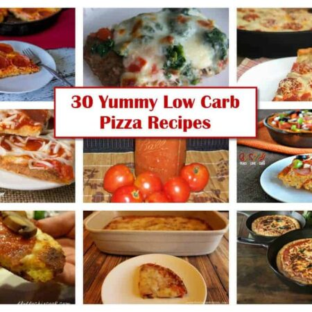 30 Yummy Low Carb Pizza Recipes