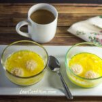 Buttery Asiago Baked Eggs -