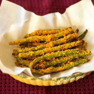 Crispy Oven Fried Green Beans – Gluten Free