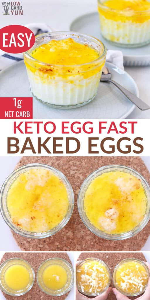 buttery baked eggs recipe