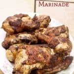 Low carb marinated grilled chicken