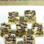 sugar free low carb mint chocolate chip fudge recipe
