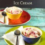 low carb raspberry cheesecake ice cream