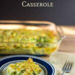 low carb spiralized zucchini casserole