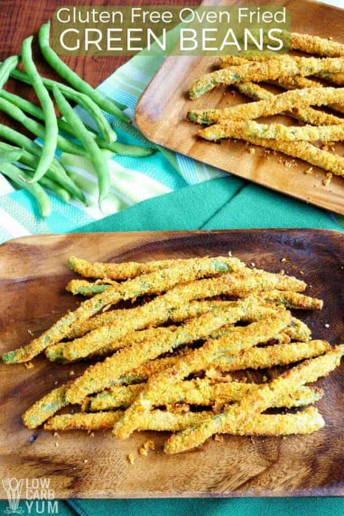 Easy oven fried green beans fries recipe