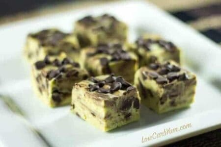 Sugar free mint chocolate chip fudge recipe