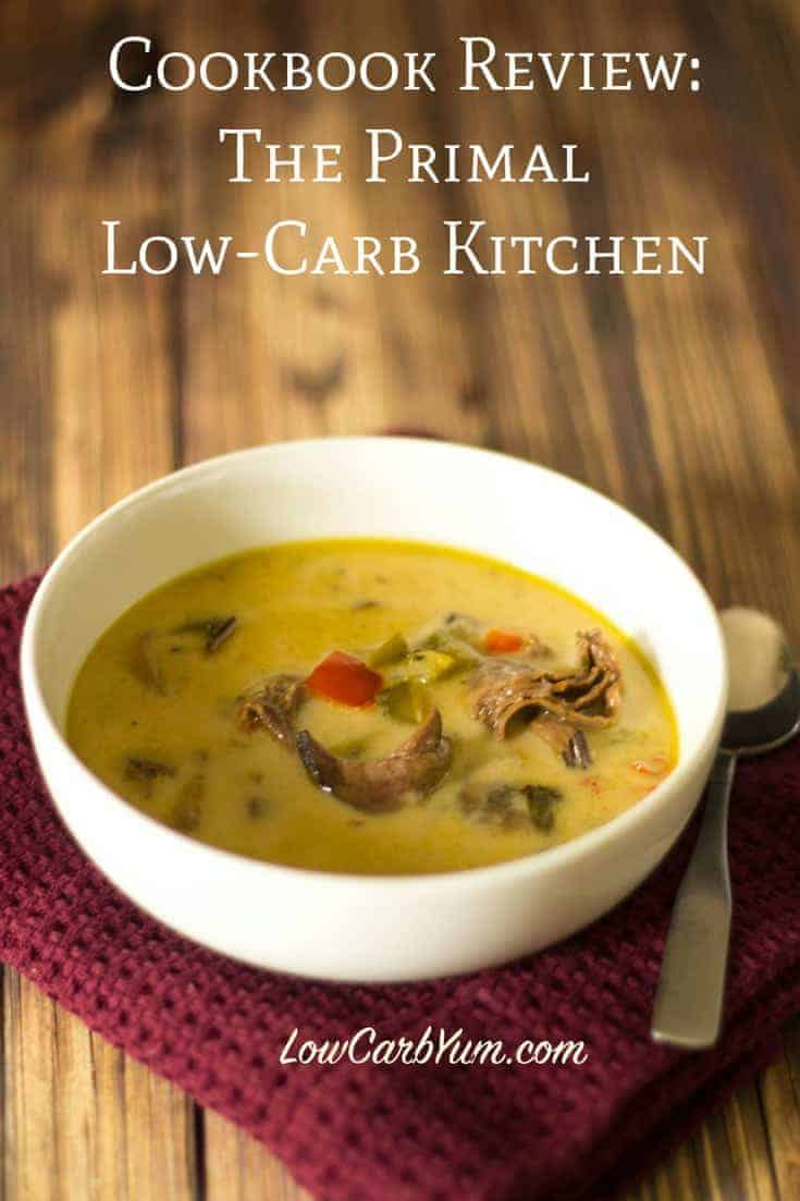 Cookbook review for The Primal Low -Carb Kitchen