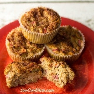 Gluten free low carb cinnamon muffins