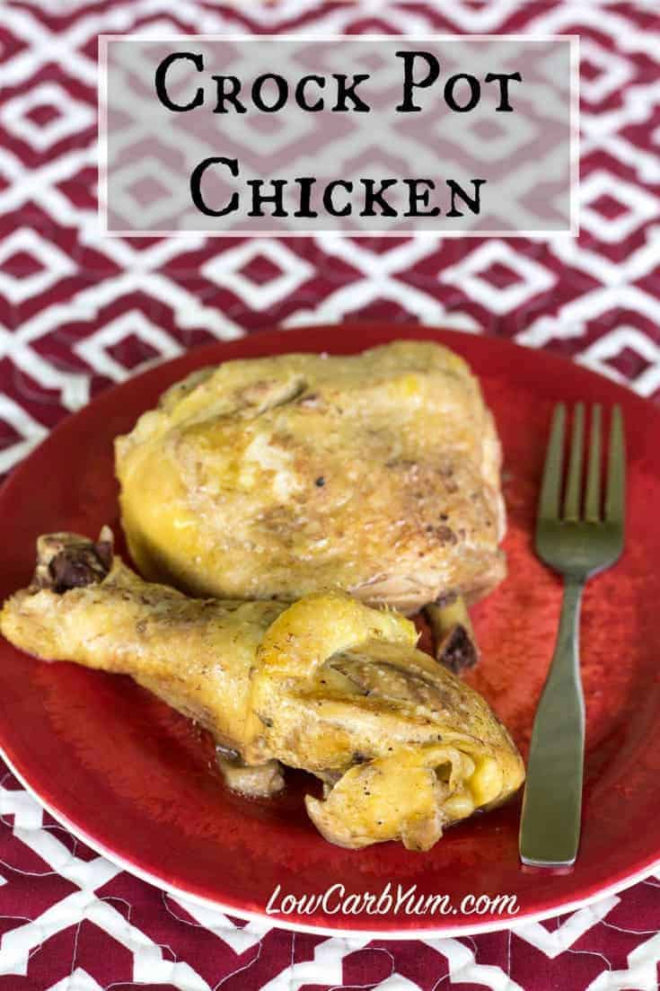 ketogenic diet low carb crock pot chicken recipe