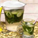 low carb cucumber mint water recipe