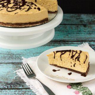 No Bake Peanut Butter Cheesecake – Gluten Free