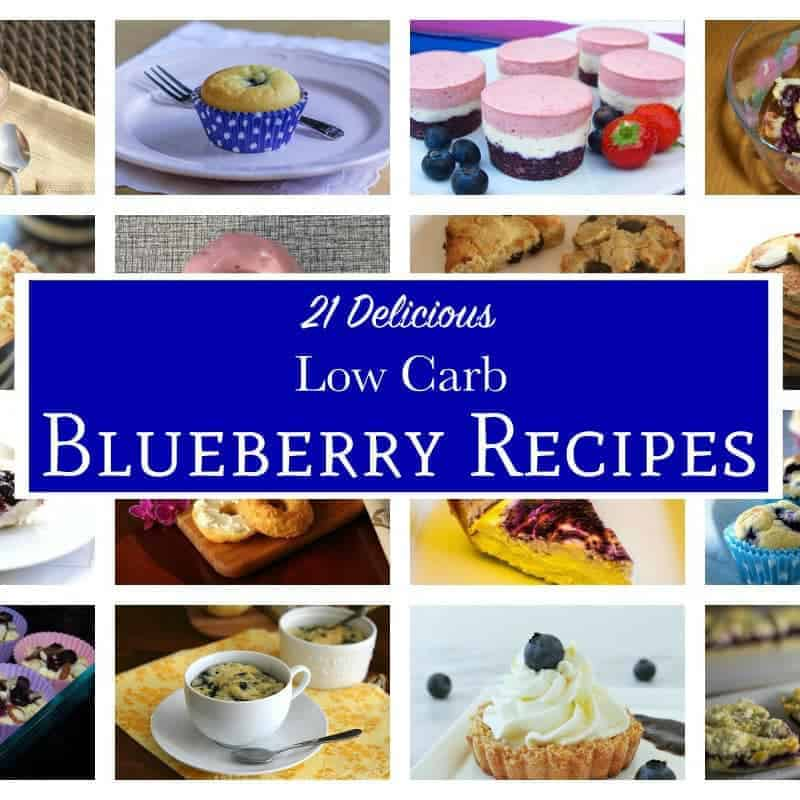 21 Delicious Low Carb Blueberry Recipes