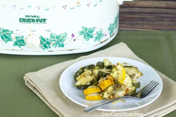 Crock Pot Zucchini Summer Squash Recipe