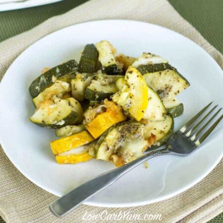 Crock Pot Zucchini and Yellow Squash