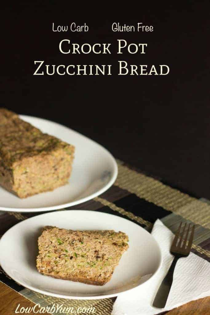 Crock pot zucchini bread recipe