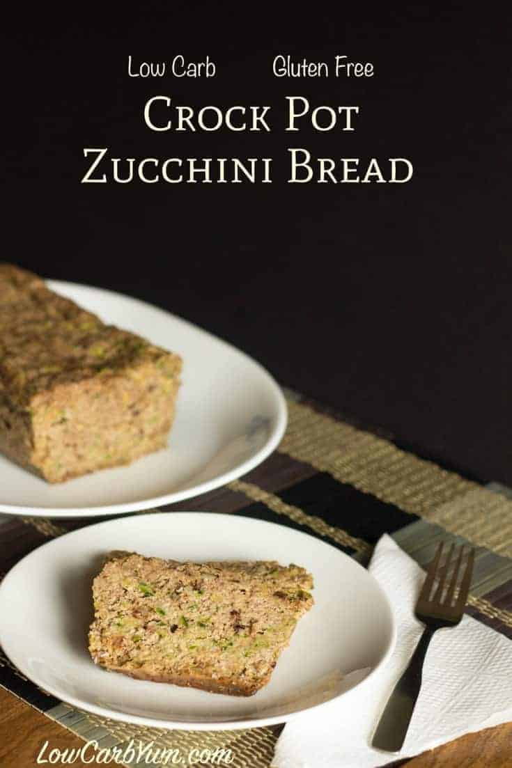 Crock pot zucchini bread recipe