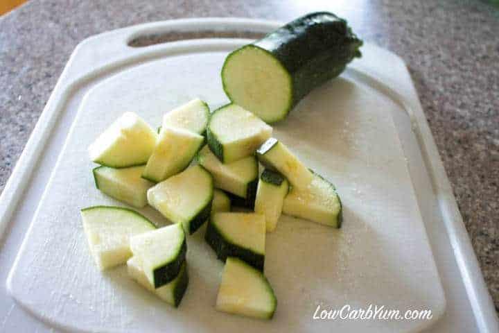Cut Zucchini