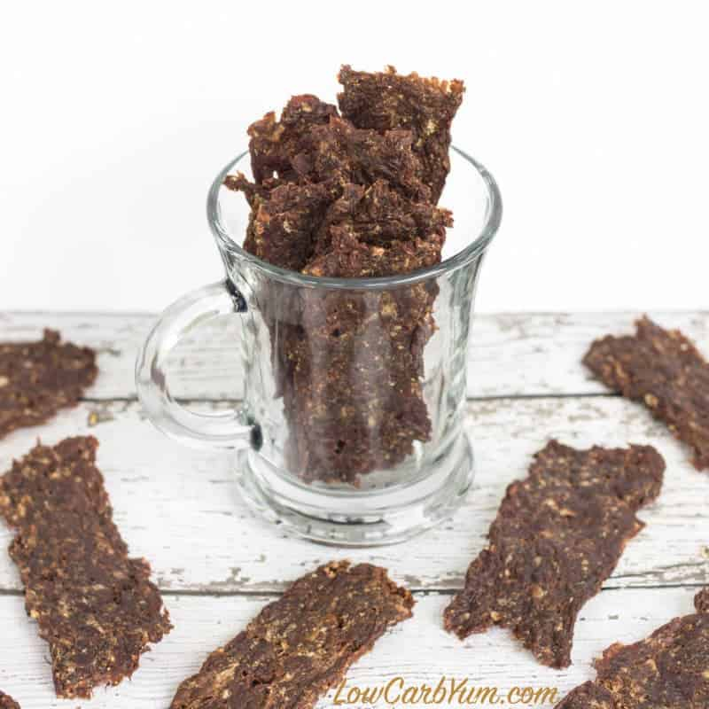 Ground Beef Jerky Recipe With Hamburger Or Venison Low Carb Yum