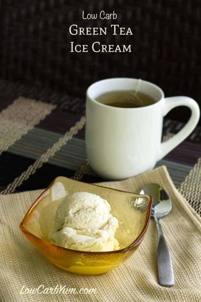 Low Carb Green Tea Ice Cream Recipe No Eggs