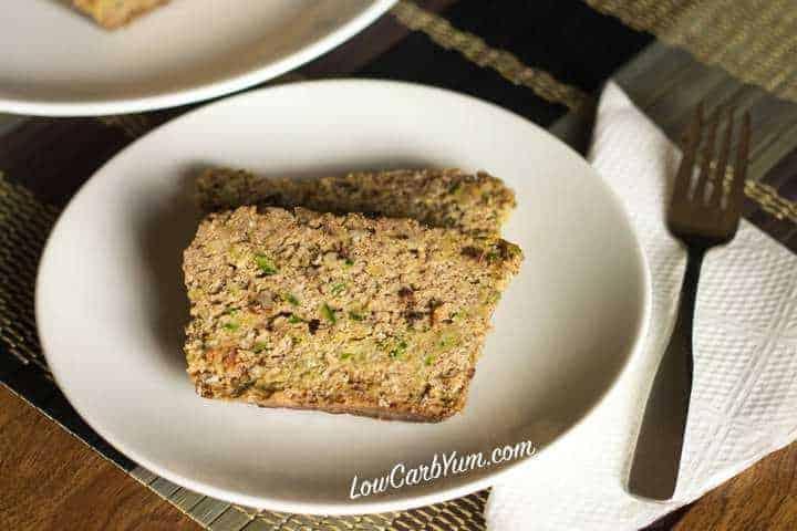 Low carb gluten free crock pot zucchini bread