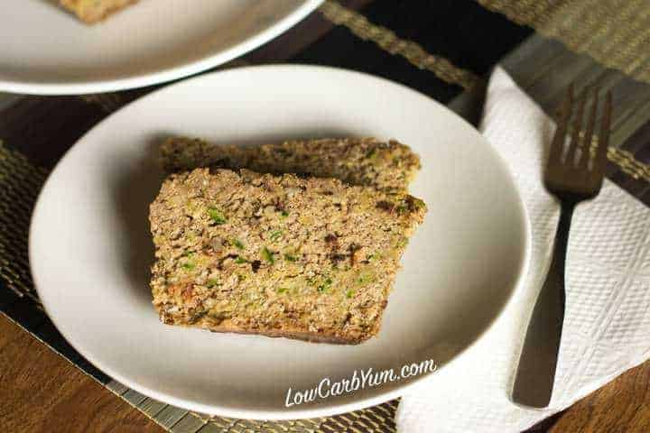 Low carb gluten free crock pot zucchini bread