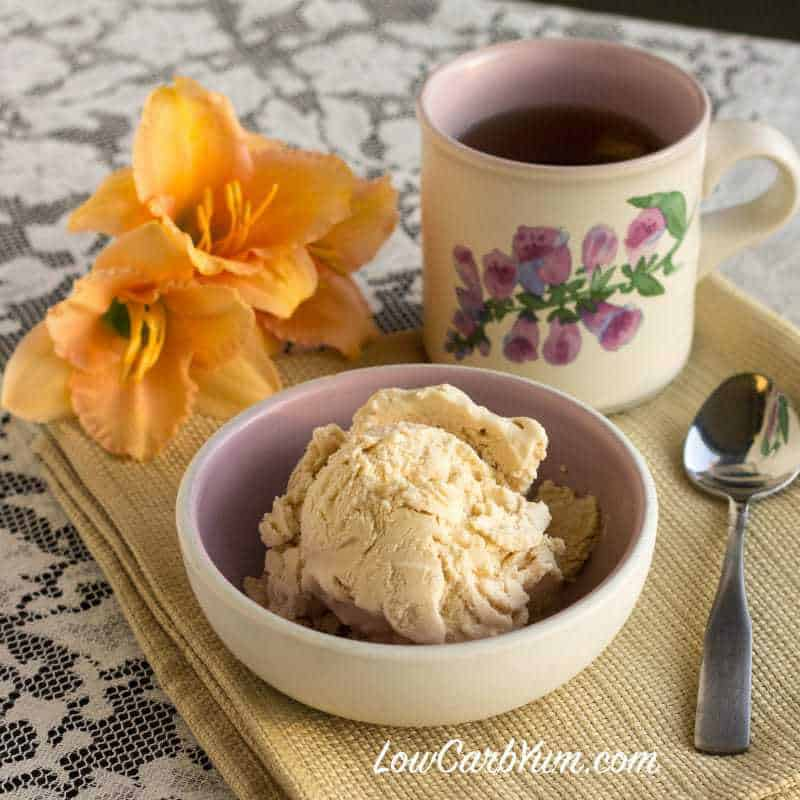 No Egg Peach Ice Cream Recipe