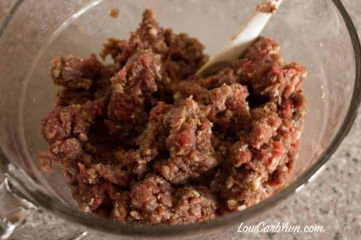 Seasoned ground beef