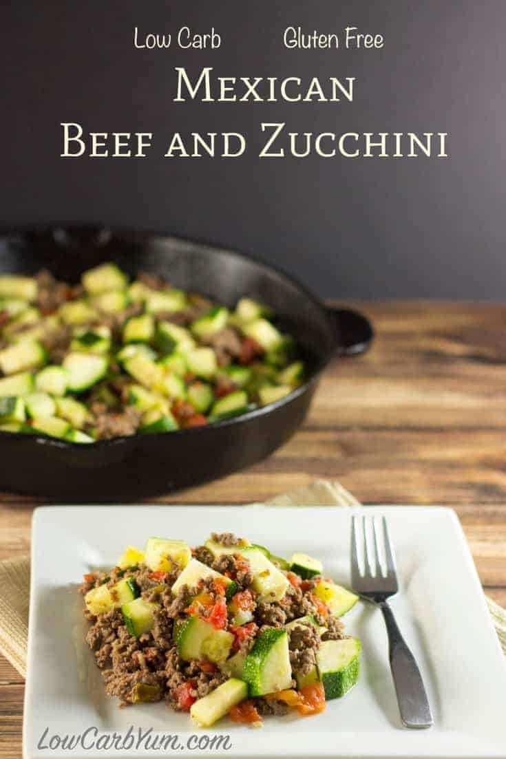 Easy ground beef recipes low carb