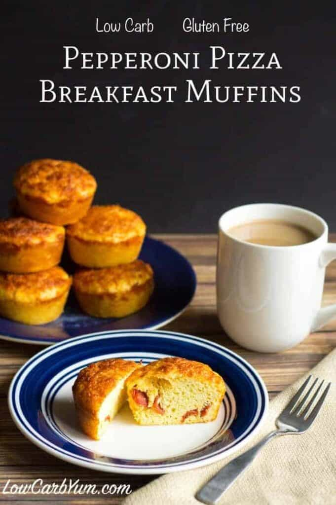 gluten free pepperoni pizza breakfast muffins recipe