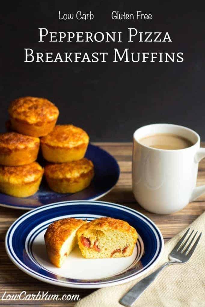 gluten free pepperoni pizza breakfast muffins recipe