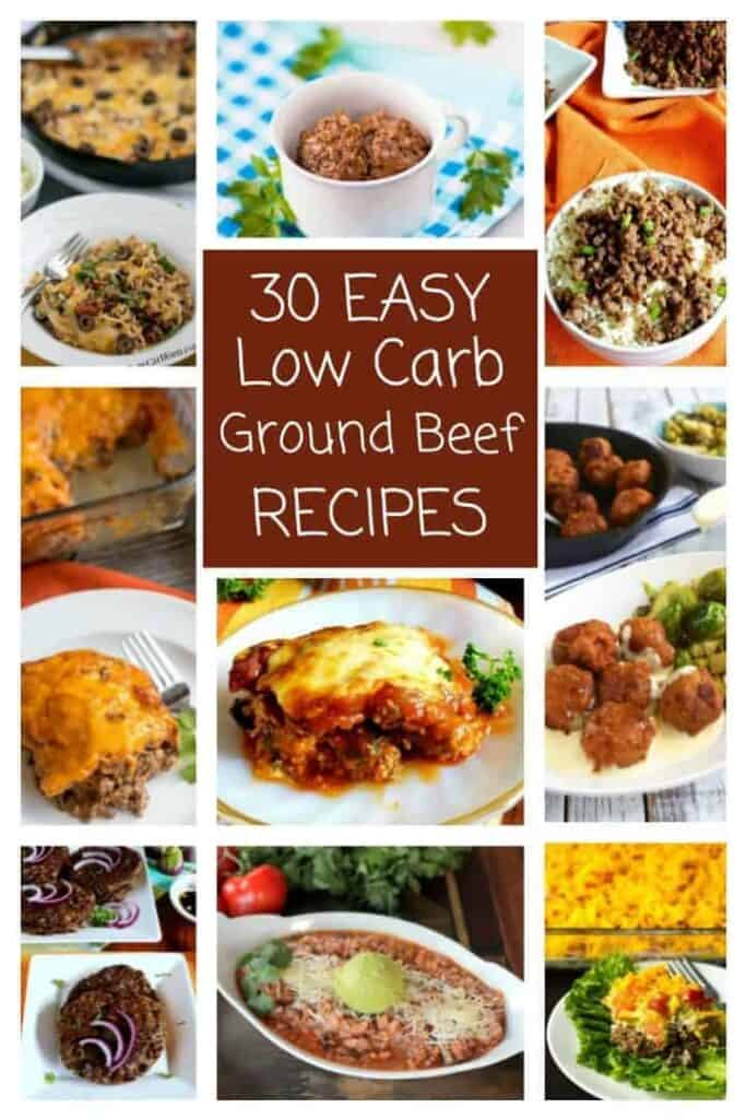 30 Easy Low Carb Ground Beef Recipes