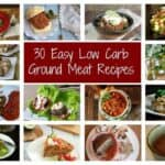 Easy Low Carb Ground Meat Recipes Featured