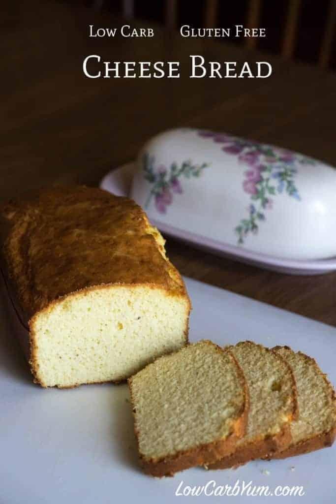 Käse kohlenhydratarmes glutenfreies Brot Rezept