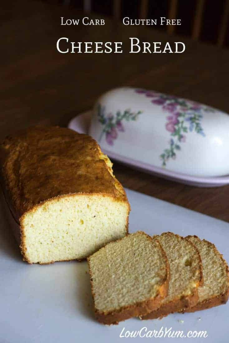 Cheese low carb gluten free bread recipe