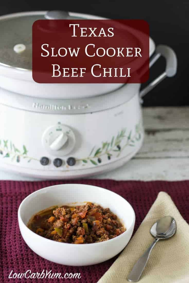 Down South Paleo Crock Pot Chili Recipe