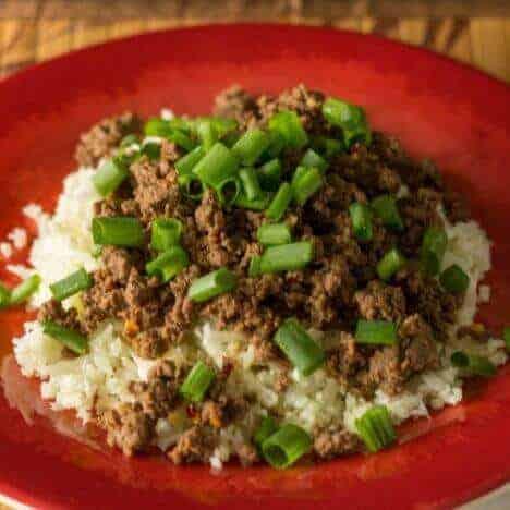 Low carb Korean Beef Recipe