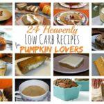 24 Low Carb Pumpkin Recipes